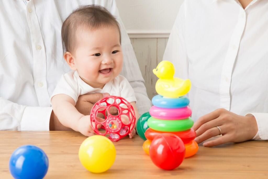 発達段階によって変わってくる子どものおもちゃ